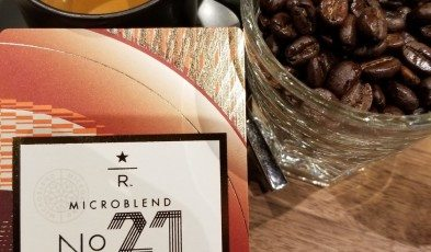 Micro Blend No 21 Espresso shot - 08 Sept 2017