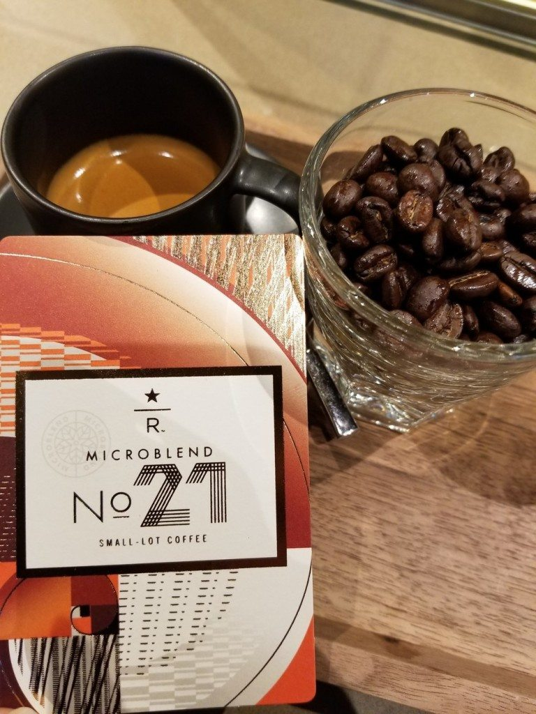 Micro Blend No 21 Espresso shot - 08 Sept 2017