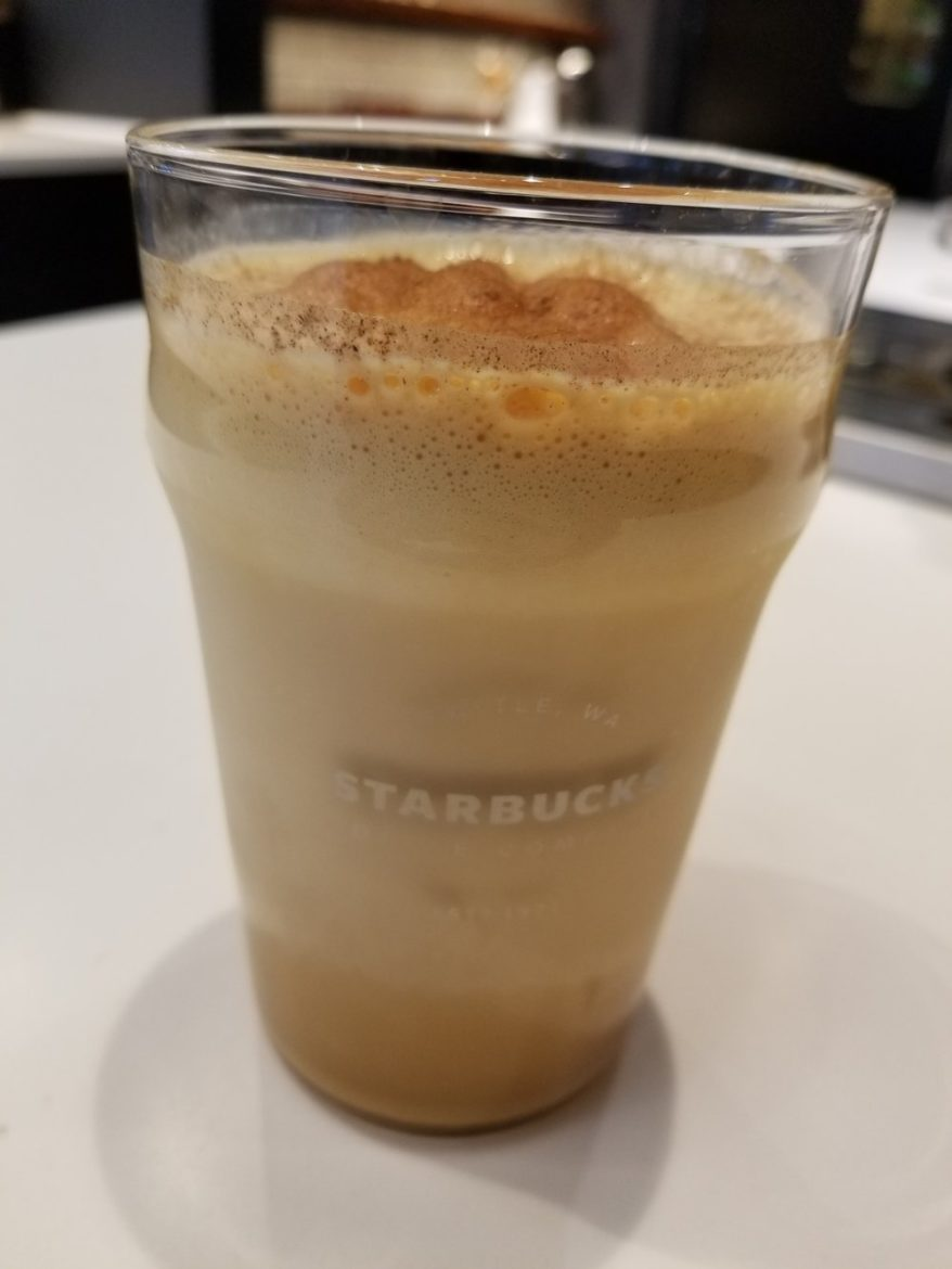 Nitro Pumpkin Spice Latte 2017 Sept 23