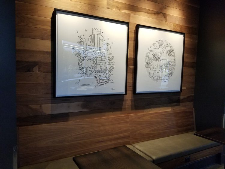 bench seating fontana Starbucks 29 Aug 2017
