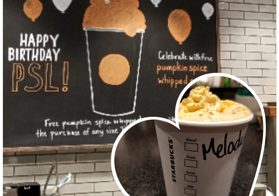 All Pumpkin Spice Top to Bottom: Until Sunday October 8th Get Pumpkin Spice Whipped Cream on your PSL