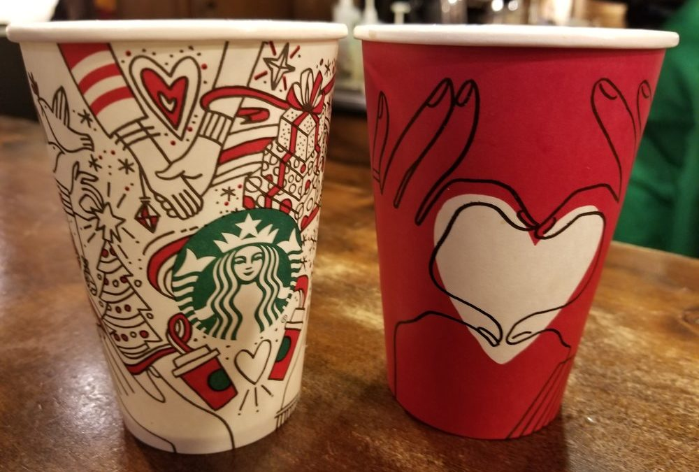 The Real Starbucks Red Cups Launch on 11/28: #GiveGood