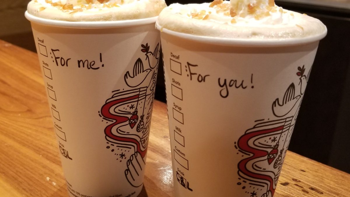 Buy One Get One Free – Holiday Drinks now through the 13th! (2 PM – 5 PM)