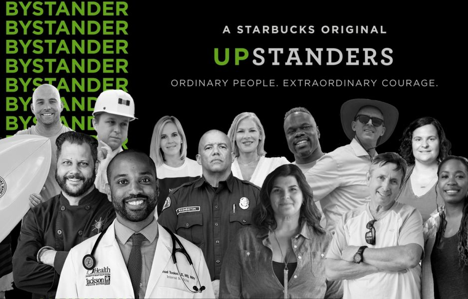 Starbucks Upstanders season 2: Ordinary People do Great Things.
