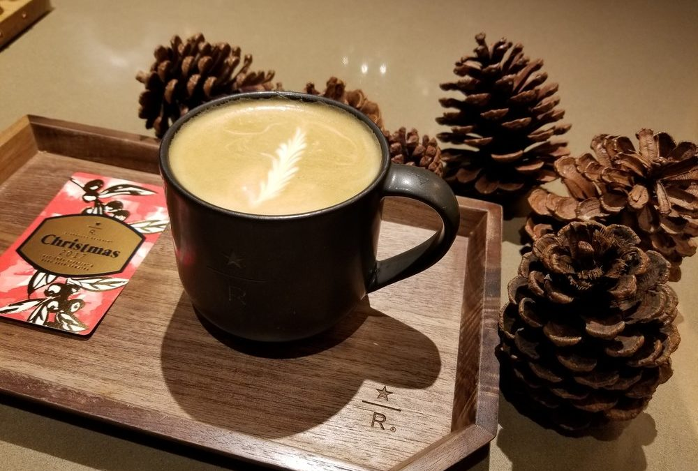 The Starbucks latte that reminds you of trees and woods: Juniper Latte