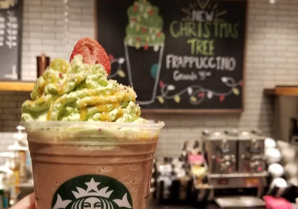 The Christmas Tree Frappuccino – December 7th – 11th