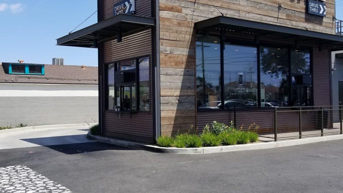 Celebrating a cute new Starbucks in South Gate! (Firestone & Hildreth in South Gate – Los Angeles)