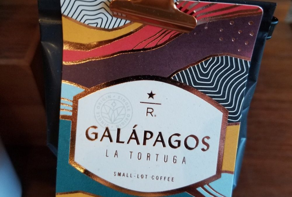 Galapagos coffee returns to Starbucks after an 8 year break. Happy Veteran's Day.
