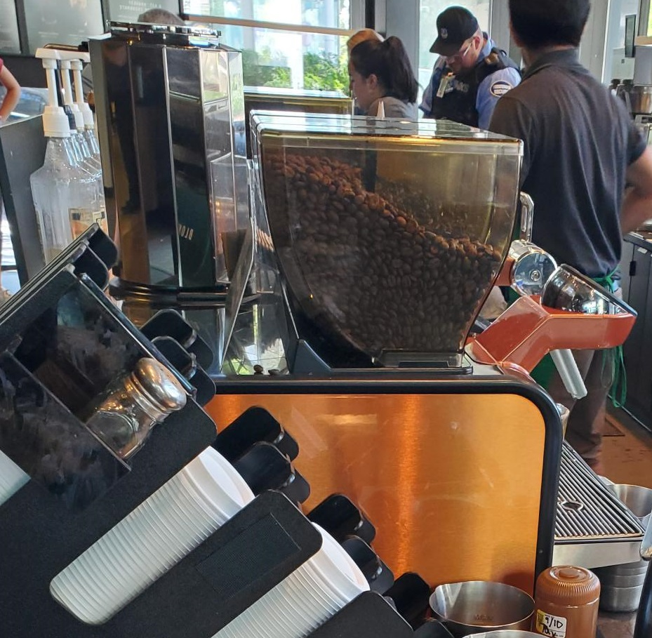 Better Espresso Machines Coming To Starbucks Stores