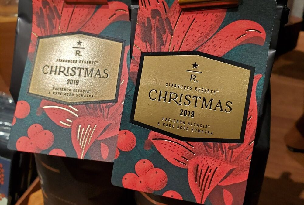 The Starbucks Reserve Christmas Blend 2019 – Available now at select stores and Roastery locations